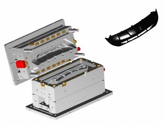 Fabricação de Molde para Linha Automotiva Arcadas - Fabricação de Moldes de Injeção