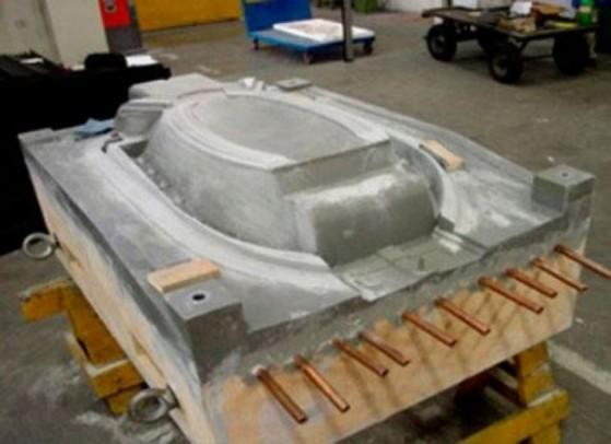 Molde para Injeção de Poliuretano Arcadas - Moldes para Injeção de Alumínio