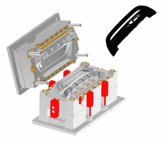 Procuro por Fabricação de Moldes de Injeção Cursino - Fabricação de Moldes 32 Ton