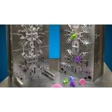 moldes para injeção de silicone