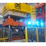 prensa hidráulica para fechamento de moldes São Caetano do Sul