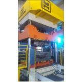 prensa hidráulica para fechamento de moldes