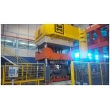 prensas hidráulica para fechamento de moldes Atibaia